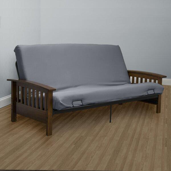 Serta Encasement Box Cushion Futon Slipcover by Serta