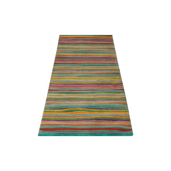 Roseland Hand-Tufted Wool Multicolor Area Rug