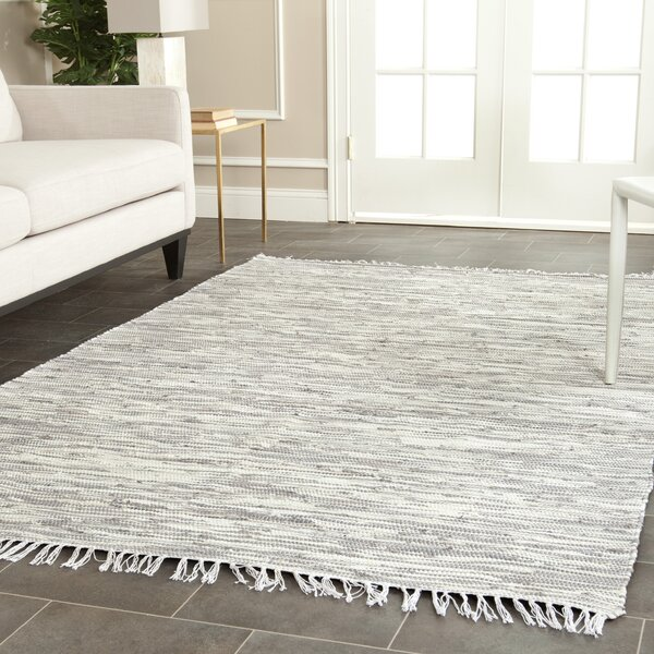 Dryden Silver Area Rug by George Oliver
