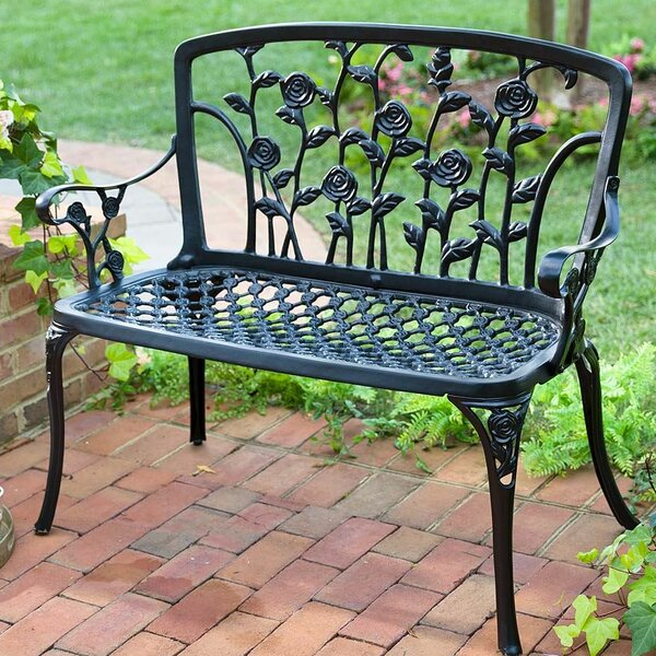 Climbing Rose Garden Bench by Plow & Hearth
