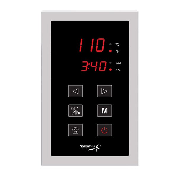 SteamSpa Touch Panel Control System by Steam Spa