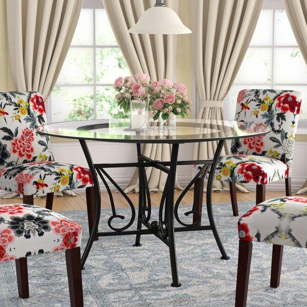 Corkey North Dining Table by Fleur De Lis Living