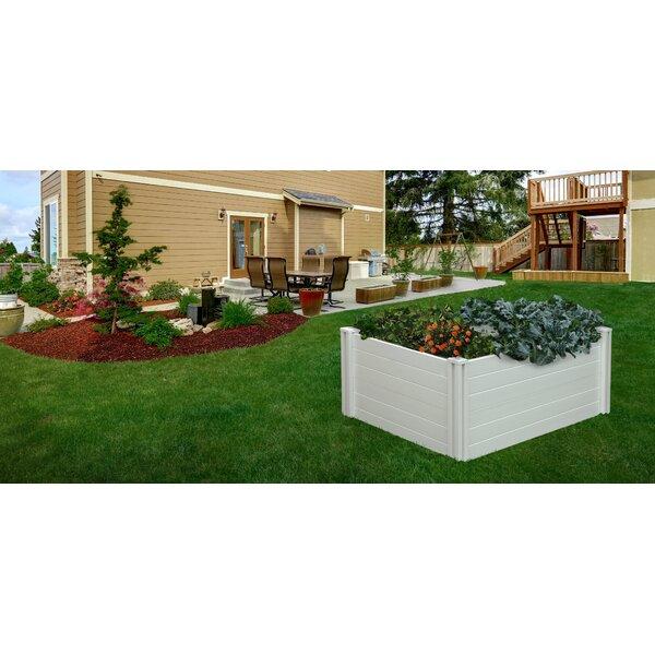 5 ft x 3 ft Plastic Raised Garden by Vita Gardens