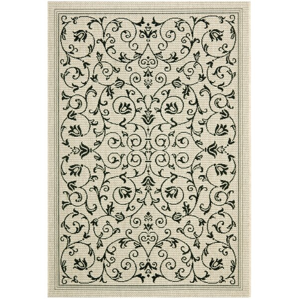 Bexton Gray Outdoor/Indoor Area Rug by Alcott Hill