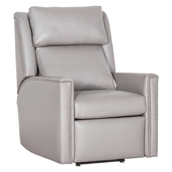 Nolan Leather Manual Recliner By Fairfield Chair