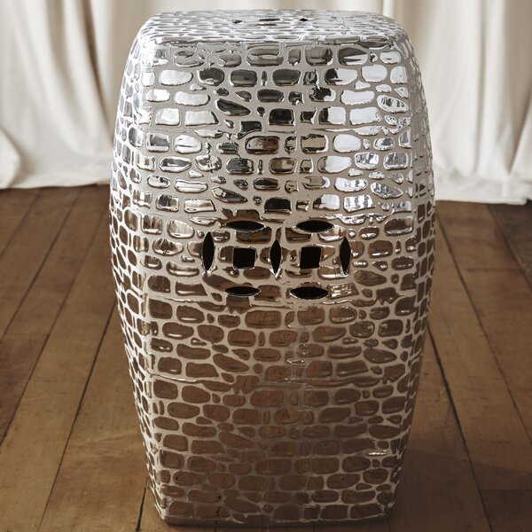 Knudsen Garden Stool by Mercury Row