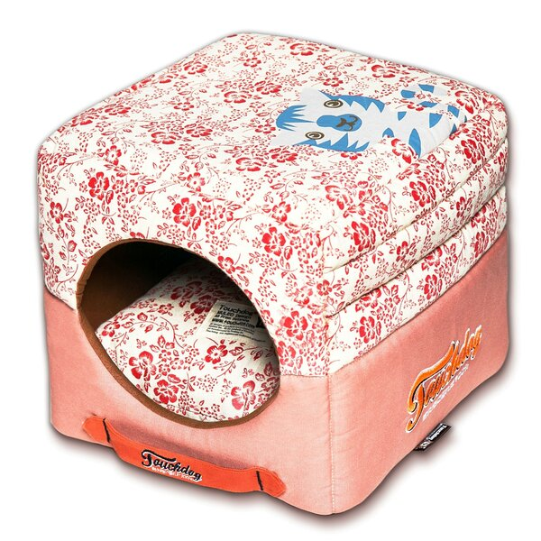 Floral Galore Reversible and Collapsible Dog Bed by Pet Life