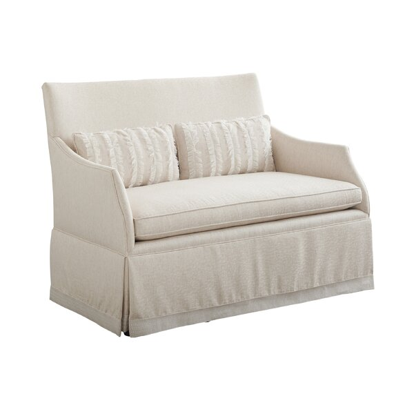 Hyland Park 51'' Flared Arm Settee By Barclay Butera