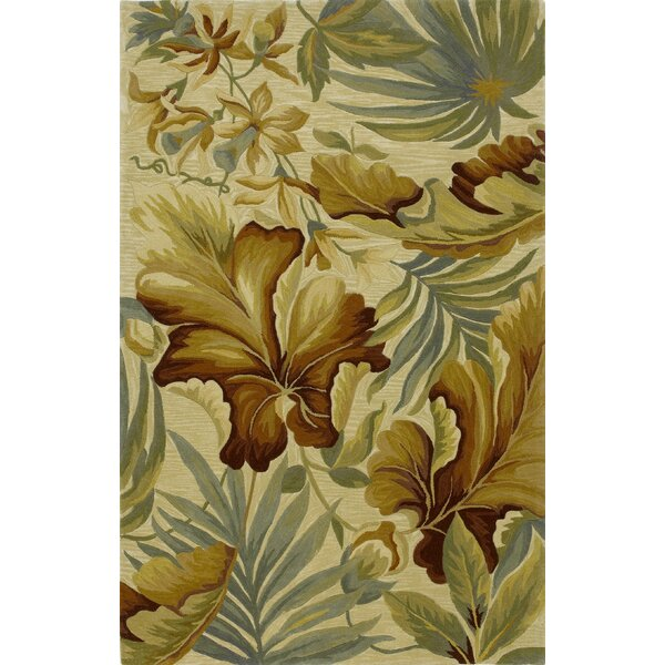 Murray Ivory Paradise Area Rug by Bay Isle Home