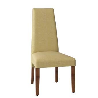Orren Ellis Sperazza Leather Upholstered Dining Chair Wayfair