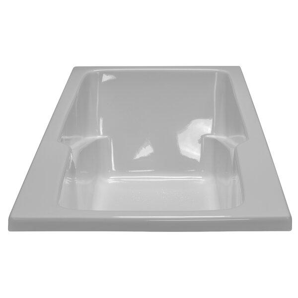 60 x 30 Soaker Armrest Bathtub by American Acrylic