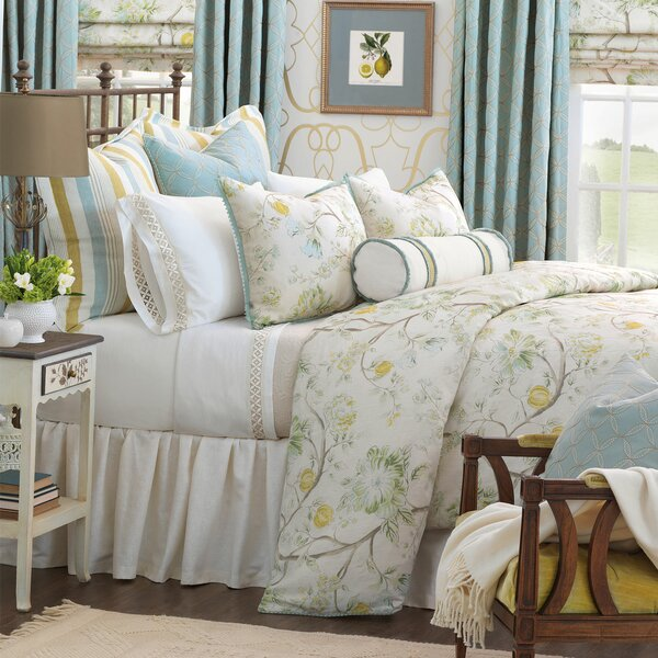 Magnolia Reversible Duvet Cover Set