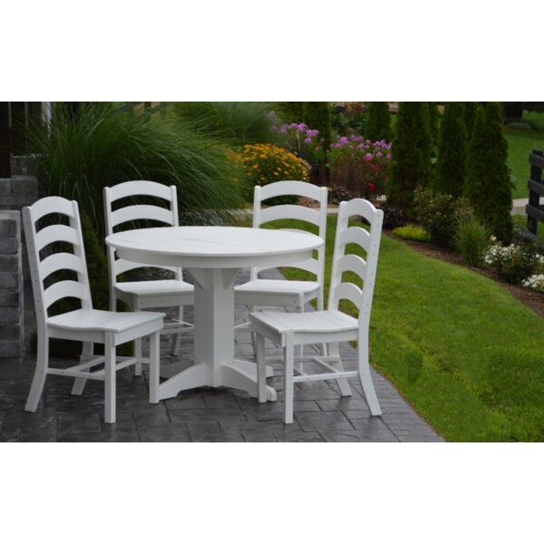 Nettie 5 Piece Dining Set By Red Barrel Studio