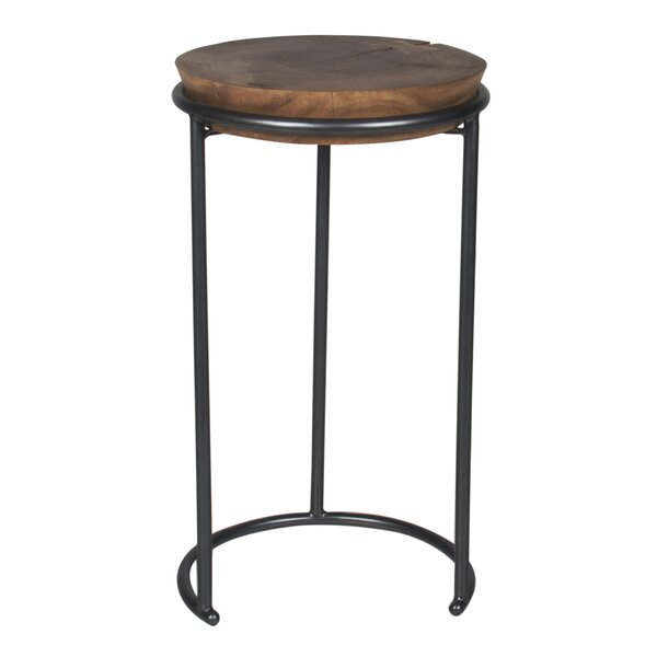Metal/Wood Stool (Set of 2) by BIDKhome
