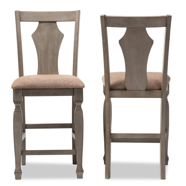 Baxton Studio 25.5 Bar Stool (Set of 2) by Wholesale Interiors