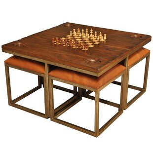 36 Alvin 5 Piece Chess Table Set By Sarreid Ltd