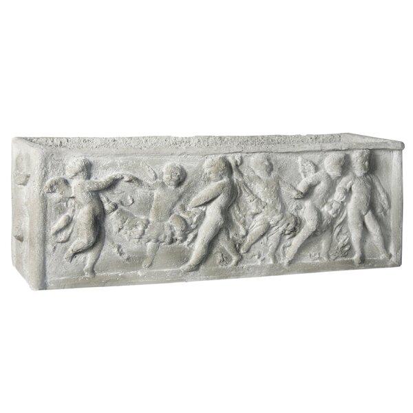 Cast Stone Planter Box by OrlandiStatuary