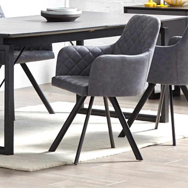 Breneman Upholstered Dining Chair (Set of 2) by Comm Office