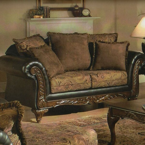 Valuable Quality Oswego Loveseat by Astoria Grand by Astoria Grand
