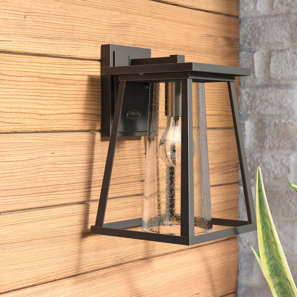 Propst 1-Light Outdoor Wall Sconce by Brayden Studio