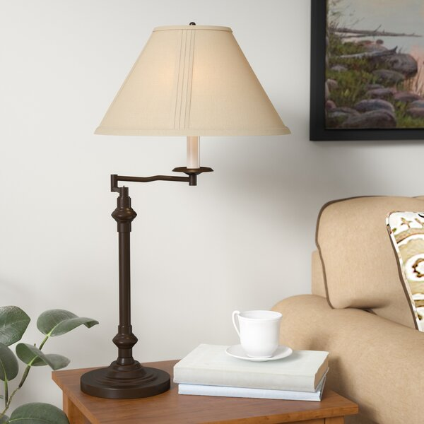 Hannon Swing Arm 29.5 Desk Lamp by Three Posts