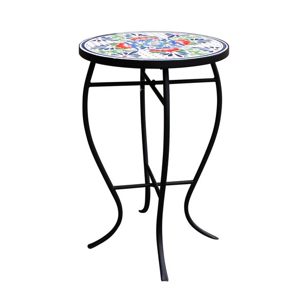 Coeburn Mosaic Bistro Table by Fleur De Lis Living