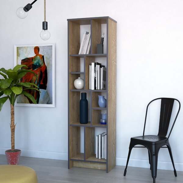 Home & Garden Halley Geometric Bookcase