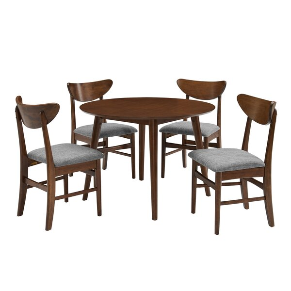 Guthmund 5 Piece Dining Set by Ebern Designs Ebern Designs