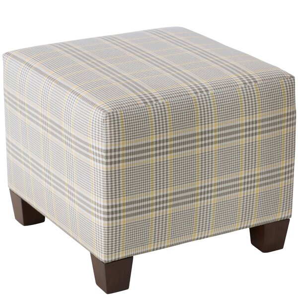 Orland Cube Ottoman by Alcott Hill