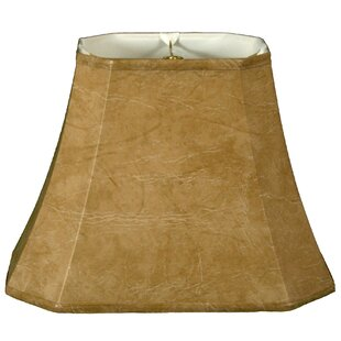 Great Price 20 Faux Leather Bell Lamp Shade By Alcott Hill