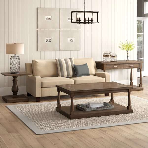 Fortunat 3 Piece Coffee Table Set by Laurel Foundry Modern Farmhouse Laurel Foundry Modern Farmhouse