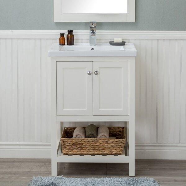 Durso 24 Single Sink Bathroom Vanity Set by Rosecliff Heights