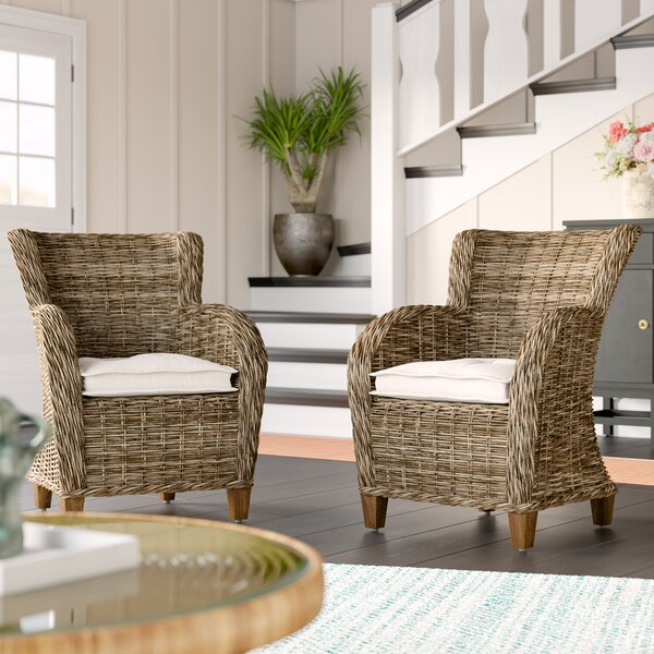 Sherbrooke Armchair (Set of 2) by Rosecliff Heights