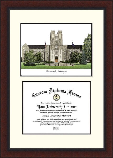 NCAA Virginia Tech Legacy Scholar Diploma Picture Frame by Campus Images