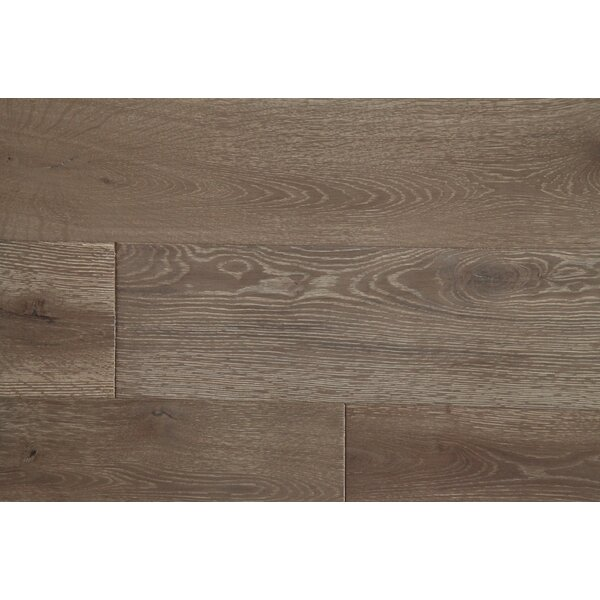 Vita Bella Plus 7 Engineered Oak Hardwood Flooring in Brown/White by Alston Inc.