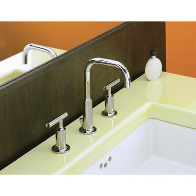 Faucet Drain Low Handles Low Polished Nickel photo