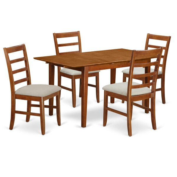 Katie 5 Piece Dining Set by Alcott Hill