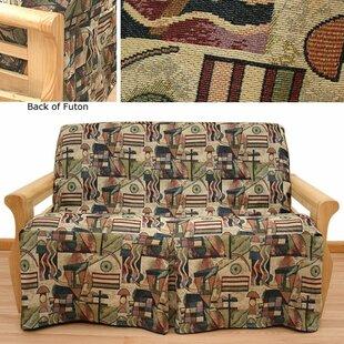 Hip Hop Box Cushion Futon Slipcover
