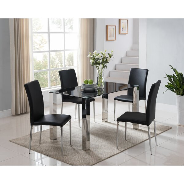 5 Piece Dining Set By InRoom Designs
