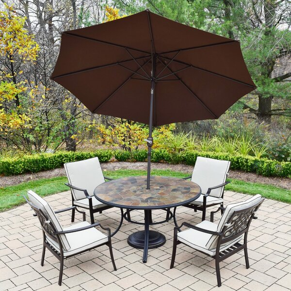 Neche 7 Piece Dining Set with Cushions by Winston Porter Winston Porter