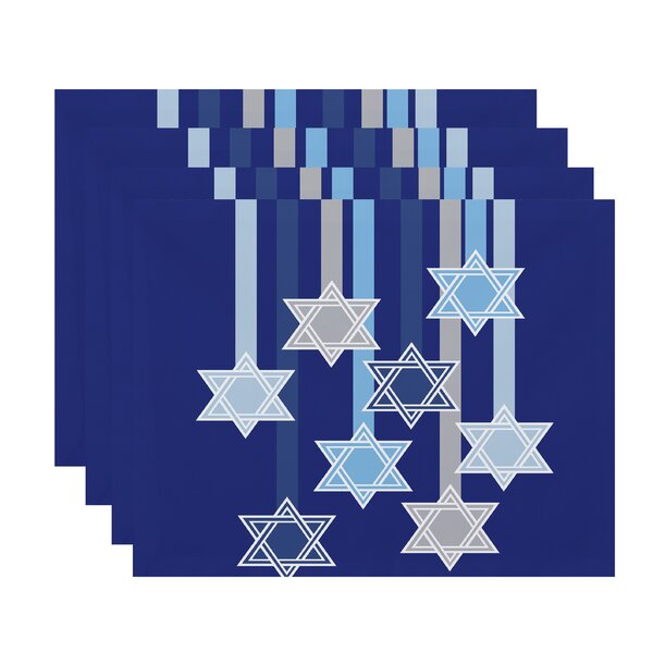 Shooting Stars Placemat (Set of 4) by The Holiday Aisle