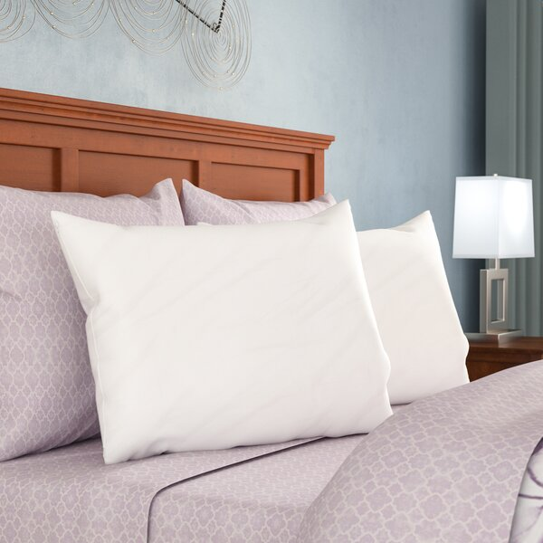 Premium 400 Thread Count Zippered Pillow Protector (Set of 2) by Alwyn Home