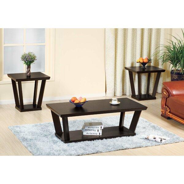 Flatley 3 Piece Coffee Table Set by Winston Porter Winston Porter