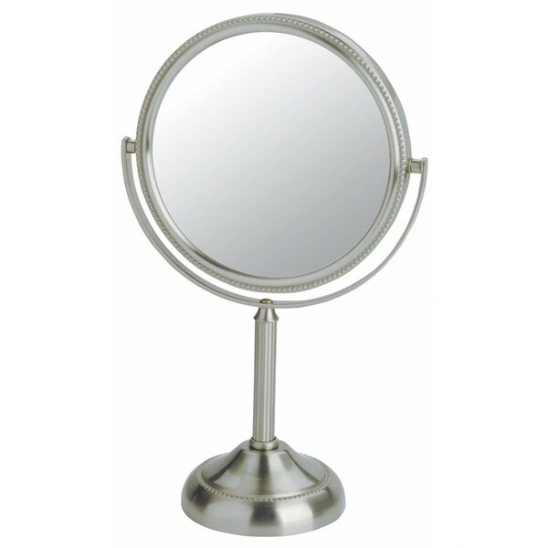 Dual Sided Vanity Mirror by Jerdon