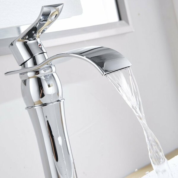 DFI Waterfall Vessel Sink Bathroom Faucet by Aquafaucet