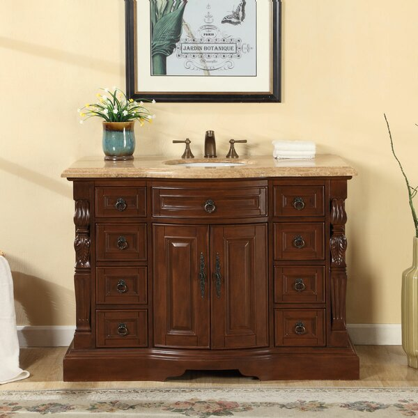 48 Single Sink Bathroom Vanity Set by Astoria Grand