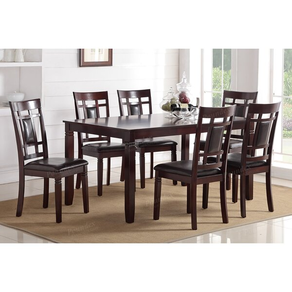 Bousquet 7 Piece Dining Set by Red Barrel Studio