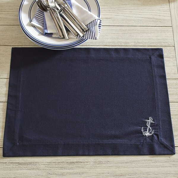 Anchor Placemats (Set of 6) by Birch Lane™