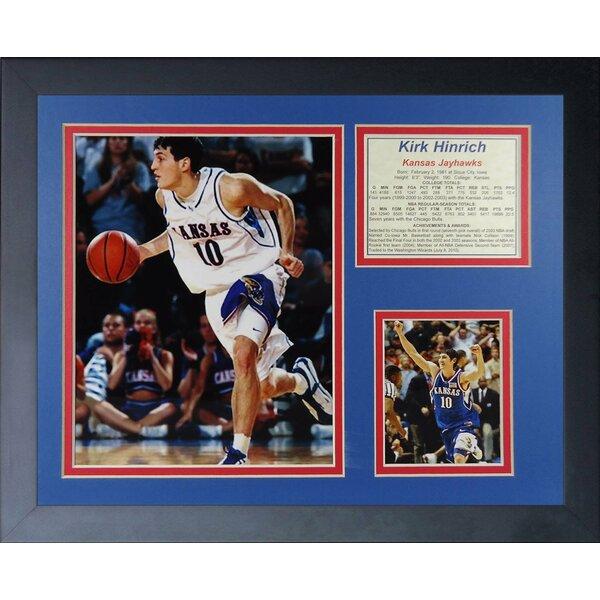 Kirk Hinrich - Kansas Jayhawks Framed Memorabilia by Legends Never Die