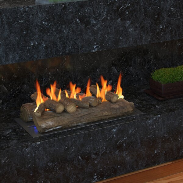 Gas Fireplace Decorative Logs By Regal Flame